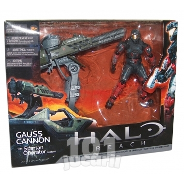Halo Reach, Gauss Cannon & Spartan Operator