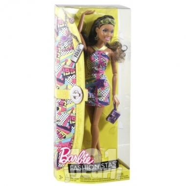 Barbie Fashionistas Nikki
