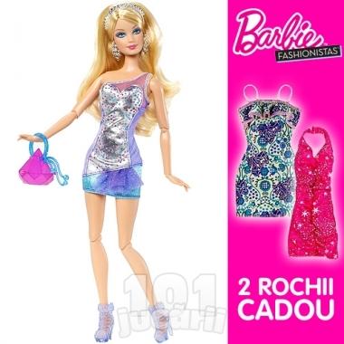 Papusa Barbie Blue cu accesorii