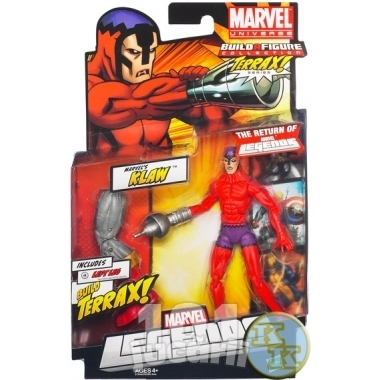 Marvel Legends 2012, Figurina Klaw 15 cm
