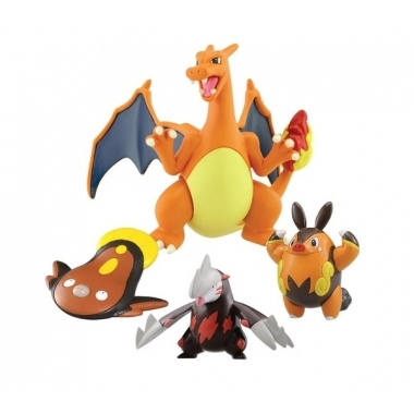Set 4 minifigurine, Charizard