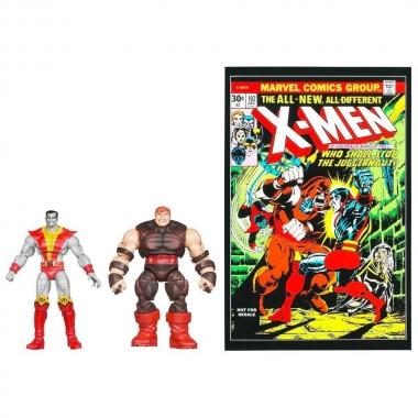 Set 2 figurine Colossus & Juggernaut  10 cm