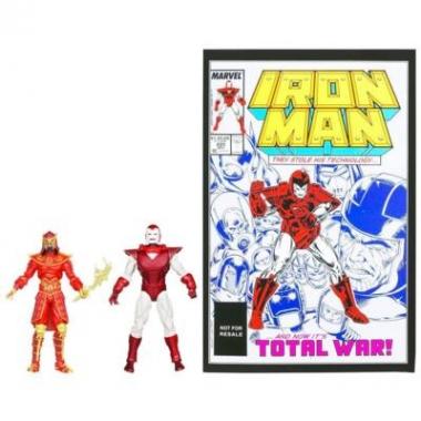 Set 2 figurine, Silver Centurion IM vs. Mandarin 10 cm