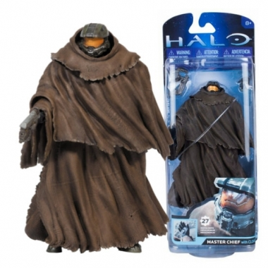 Figurina Master Chief with Cloak, 14 cm
