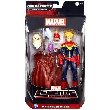 Marvel Legends Infinite, Figurina Captain Marvel  15 cm