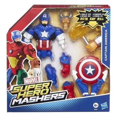 Super Hero Mashers, Captain America 15 cm