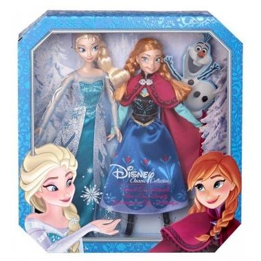 Frozen Dolls, Anna & Elsa 30 cm