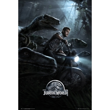Jurassic World Poster  Raptors 61 x 91 cm