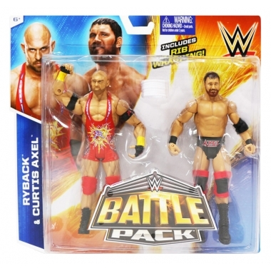 Curtis Axel & Ryback, Battle Packs 35