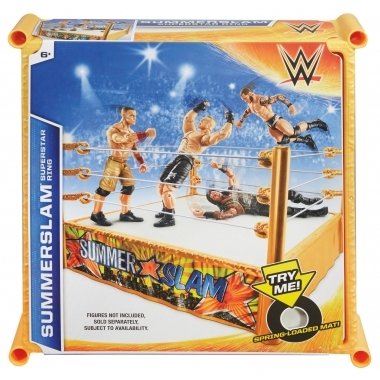 Ring WWE Summer Slam Superstar (yellow)