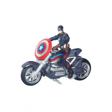 Marvel Legends 2016, Civil War: Captain America cu motocicleta