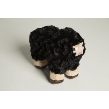 Minecraft Plush Black Sheep 25 cm