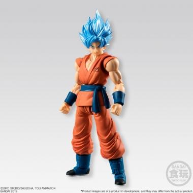 Dragonball Z Shodo, Figurina SSGSS Son Goku 10 cm