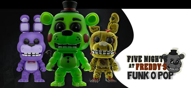FNAF Funko! Pop / minifigurine