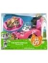 44 Cats - set figurina Milady cu masinuta roz