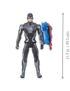 Avengers, Figurina Captain America 30 cm (Titan Hero Power FX) (spaniola)