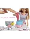 Papusa Barbie si set laborator cofetarie