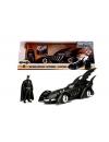 Batman Forever Diecast Model 1/24 1995 Batmobile with figure