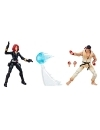 Black Widow & RYU, Marvel Gamerverse Exclusive 10 cm