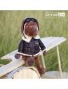 Cookie, catelul aviator din plus, 30cm