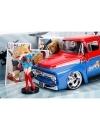 DC Bombshells 1956 Ford F100 cu figurina, macheta auto 1:24