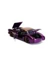 DC Bombshells 1/24 1957 Chevy Corvette cu figurina, macheta auto 1:24