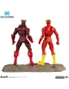 DC Multiverse Collector Multipack Earth - 52 Batman VS Flash 18 cm