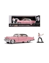 Elvis Presley 1995 Cadillac Fleetwood cu figurina, macheta auto 1:24