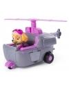 Patrula Catelusilor - Figurina cu autovehicul elicopterul lui Skye