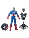 Titan Hero Series Figurina Max Venom Capitan America 30 cm