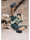 Naruto, Figurina Rock Lee superarticulata cu accesorii 15 cm