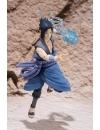 Naruto, Sasuke Uchiha Battle, FIgurina superarticulata cu accesorii  15 cm