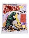Godzilla Head to Tail Figurina 1956 Godzilla US Movie Poster Version 30 cm