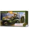 HALO Vehicul Warthog Deluxe si Figurina Master Chief 11 cm