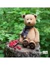 Honey, ursuletul de plus cu fular, 30cm (Orange Toys)