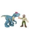 Imaginext Jurassic World dinozaur Allosaurus & figurina Ranger