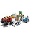 Lego City - Camionul gigant de politie si atacul armat