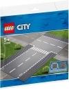 Lego City - intersectie dreapta si in T 60236