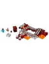 LEGO Minecraft The Nether Railway (Calea Ferata Nether) 387 piese