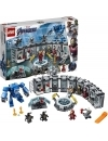 Lego super heroes iron man - sala armurilor 76125