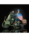 Marvel Legends 80th Captain America with motorcycle