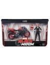 Marvel Legends, Black Widow (15 cm) cu motocicleta