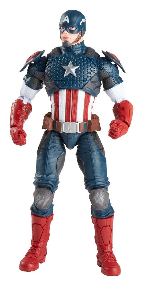 marvel legends 2016 figurina captain america 30 cm marvel legends universe. Black Bedroom Furniture Sets. Home Design Ideas