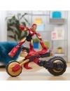 Marvel Rider Iron Man Bend and Flex, figurina 15 cm