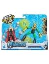 Marvel Thor vs Loki Bend and Flex set 2 figurine 15 cm