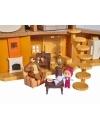 Casuta ursului cu 2 etaje, figurine si functiuni