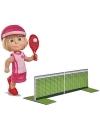 Papusica Masha jucatoare de tenis 12 cm