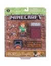 Minecraft 2016, Survival Pack Alex 8 cm cu accesorii