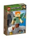 Minecraft Lego Alex with Chicken 160 piese