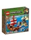 Minecraft Lego The Pirate Ship Adventure 386 piese